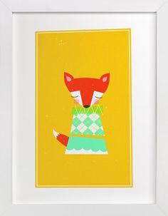Foxy by nocciola design at minted.com