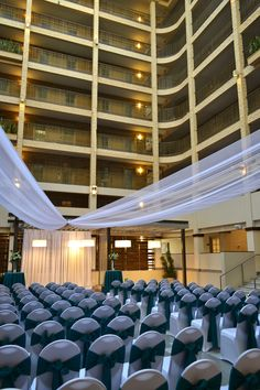 Our Open Air Atrium is perfect for your wedding ceremony or cocktail hour.