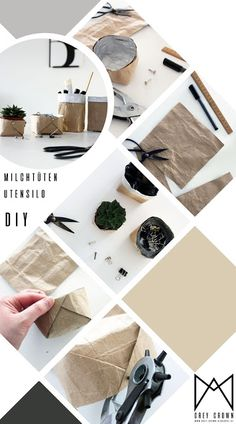 de Best Picture For diy For Your Taste You are lo - Recycled Crafts, Diy And Crafts, Crafts For Kids, Paper Crafts, Diy Tumblr, Toddler Crafts, Preschool Crafts, Diy Denim, Tetra Pack