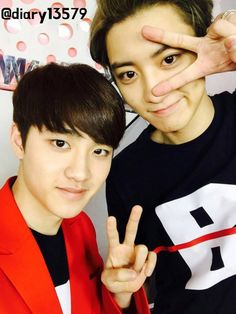 ChanYeol and D.O - EXO