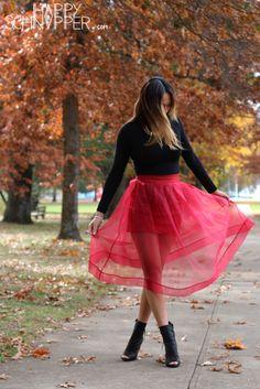 Chiffon skirt by Choies