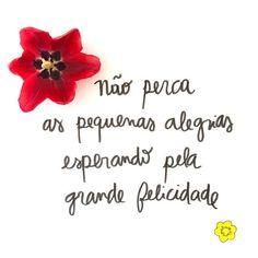...aproveite cada grão de alegria ;)