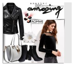 """""""ROMWE 20"""" by melissa995 ❤ liked on Polyvore featuring Smashbox"""