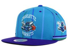 Charlotte Hornets Mitchell and Ness