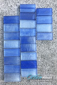 There's blue pool tile and then there's Extant Blue pool tile. Manufactured with double pressed glass to protect design elements. View the full Extant Series in 5 colors and sizes. Glass Pool Tile, Blue Glass Tile, Glass Tile Backsplash, Backyard Renovations, Vinyl Pool, Blue Pool, Blue Color Schemes, Fireplace Surrounds, Ideas