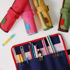 Korean Fancy Design Stationary Multipurpose Pouch Roll Pen/Pencil Case | eBay