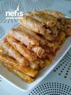 Turkish Recipes, Ethnic Recipes, Creative Food, Bacon, Favorite Recipes, Pasta, Chicken, Dining, Breakfast