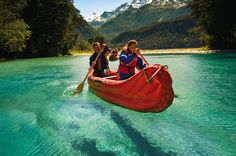 kayaking glenorchy