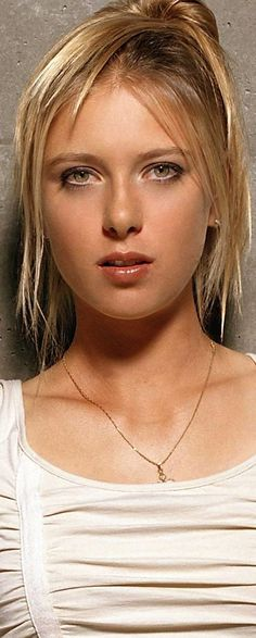 Maria Sharapova, she's amazingly gorgeous                                                                                                                                                                                 More