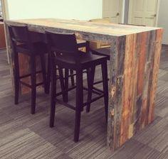 Pro #2633989 | Lumbermen's Inc | Grand Rapids, MI 49548 Industrial Interior Design, Industrial Interiors, Table, Furniture, Home Decor, Interior Design, Home Interior Design, Desk, Tabletop