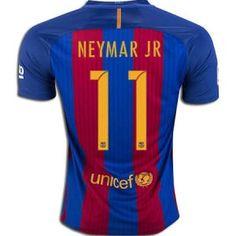 FC Barcelona 2016-17 Season Neymar JR #11 Home Soccer Jersey [F201]