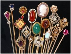 ~Love these hatpins~ mom had a bunch of these hatpins, but not sure where she got them.