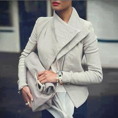Free Shipping 2015 Winter Autumn Women Jacket Cardigan Zipper Stand up Collar Coat Outwear-in Basic Jackets from Women's Clothing & Accessories on Aliexpress.com | Alibaba Group
