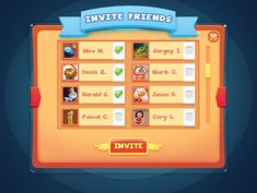 Casual Game UI Design on Behance