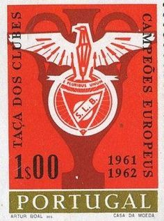 Coisas do Benfica, selo de correios (Things of the SLBenfica -Postage stamp) - Portugal