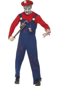 Zombie Plumber Costume - Halloween Costumes at Escapade