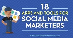 Reposting @social.media.phoenix: . 18 Apps and Tools for Social Media Marketers  Looking for tools to improve your visual and written content? Discover 18 apps from the Social Media Marketing Podcast's Discovery of the Week. #socialmediamarketing #socialmedia #contentmarketing #socialmediatips