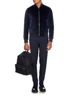 Velvet bomber jacket | Paul Smith | MATCHESFASHION.COM US