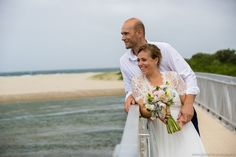 If I got married at Seven Mile Beach in Gerroa, I'd look this happy too... See more at www.jonharris.photography/weddings