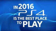Sony kondigt 20 exclusieve games aan voor de PS4 [Video]