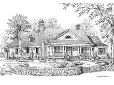 Sand Mountain House from The Southern Living® House Plans Collection...has possibilities, but want something smaller
