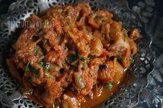 Marokańska sałatka z bakłażanów Zaalouk. Bezglutenowa i wegańska. – Bezglutenowe jadło