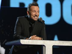 """Read Bruce Springsteen's E Street Band Induction Speech Singer inducts """"heart-stopping, pants-dropping, love-making, earth-quaking, Viagra-..."""