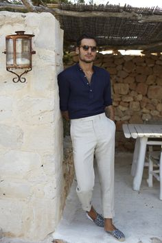 Mens Fashion Summer – The World of Mens Fashion Estilo Casual Chic, Casual Chic Style, Men's Style, Preppy Style Men, Men Summer Style, Mens Fashion Blog, Fashion Mode, Fashion Trends, Fashion News