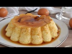 How to make homemade cheese flan! Easy and delicious recipe Peruvian Recipes, Homemade Cheese, How To Make Homemade, French Toast, Pie, Yummy Food, Breakfast, Sweet, Easy