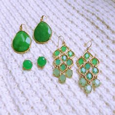 We're green with envy over these stunning jewels | Stella & Dot
