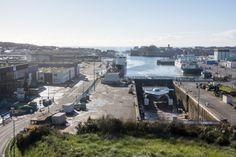 #Bretagne - #Finistere - #Concarneau Turanor #PlanetSolar et La #Calypso (4 photos) © Paul Kerrien - http://toilapol.net