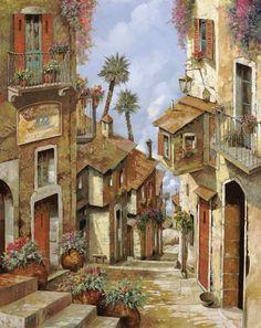 Por Amor al Arte: El virtuosismo en las pinturas de Guido Borelli paisaje…