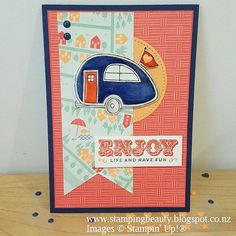 New post up on my blog - Stamping Beauty- Global Design Project- Adventure Theme #stampinup #stampingbeauty #gdp063 #globaldesignproject #carriedaway #youresublime #suitesentiments #caravan #hotairballoon