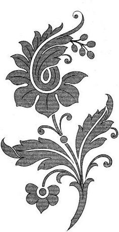 Marvelous Crewel Embroidery Long Short Soft Shading In Colors Ideas. Enchanting Crewel Embroidery Long Short Soft Shading In Colors Ideas. Jacobean Embroidery, Embroidery Motifs, Learn Embroidery, Embroidery Needles, Embroidery Designs, Russian Embroidery, Hand Embroidery Tutorial, Lesage, Satin Stitch