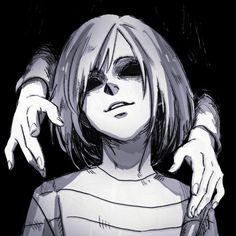 Find images and videos about sad, creepy and undertale on We Heart It - the app to get lost in what you love. Creepy Drawings, Creepy Art, Demon Drawings, Dark Drawings, Arte Horror, Horror Art, Horror Drawing, Anime Art Girl, Manga Art
