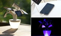 Now THAT's a power plant: Solar tree charges your mobile