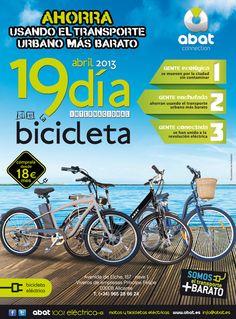"""Anuncio """"Día internacional de la bici"""" Diario Información"""