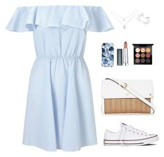 """""""Let a new chapter begin"""" by chase-stars ❤ liked on Polyvore featuring Miss Selfridge, Converse, Ana Accessories, Maybelline and MAC Cosmetics"""