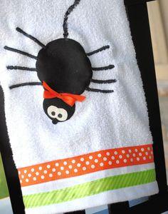 Halloween Hand Towels