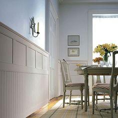 beadboard ceilings in hallway | Living Room Dining Room Kitchen ...