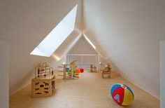 tiny attic playroom - Google Search