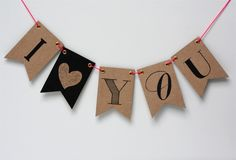 I ♥ You Slinger | Oh So Pretty Party | Dreamkey Design
