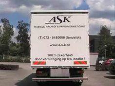 ASK mobiele archiefvernietiging & papiervernietiging is markleider in Nederland op het gebied van het op locatie vernietigen van vertrouwelijk materiaal. Indien u meer informatie wenst te ontvangen over onze specialistische dienstverlening of als u wilt weten of wij actief zijn op uw locatie of in uw regio bel dan 0800 666 5555.
