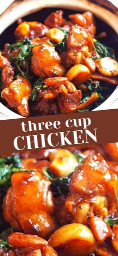 Three Cup Chicken, Rasa Malaysia, Quick Easy Meals, Chicken Recipes, Dessert Recipes, Homemade, Food, Home Made, Desert Recipes