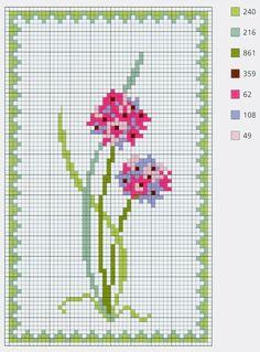 Zupełnie nowe 1000 najlepszych obrazów z kategorii HAFT KRZYŻYKOWY - kwiaty IF14