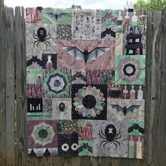Epic Halloween Quilt Top | Flying Parrot Quilts
