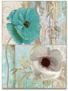 Trademark Art Trademark Fine Art Beach Poppies II Canvas Art by Color Bakery Canvas Wall Art, Canvas Prints, Pour Painting, Beach Art, Flower Art, Flower Canvas, Online Art, Art For Sale, Poster Prints