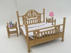 Sylvanian Families Luxury Brass Bed Set BUY IT HERE!  in Dolls & Bears, Dolls, Clothing & Accessories, Fashion, Character, Play Dolls | eBay