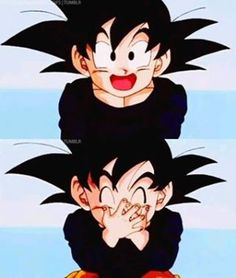 Goten has got to be the cutest character ever made!