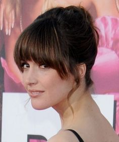 haircuts for brunettes east happiness amp peace 2434 | 6e2434b7a401b2d1021739331430a761 rose byrne fringes